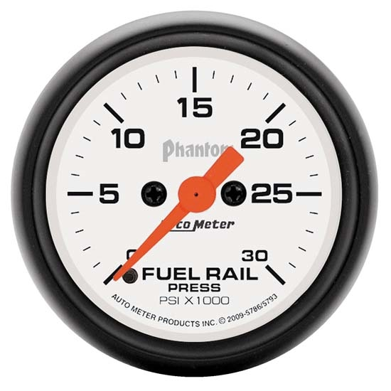Auto Meter 5793 Phantom Digital Stepper Motor Fuel Rail Pressure Gauge