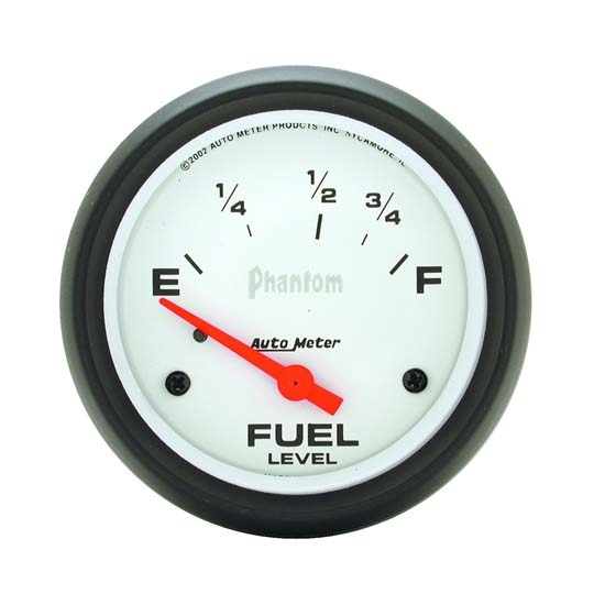 Auto Meter 5815 Phantom Air-Core Electric Fuel Level Gauge, 2-5/8 In