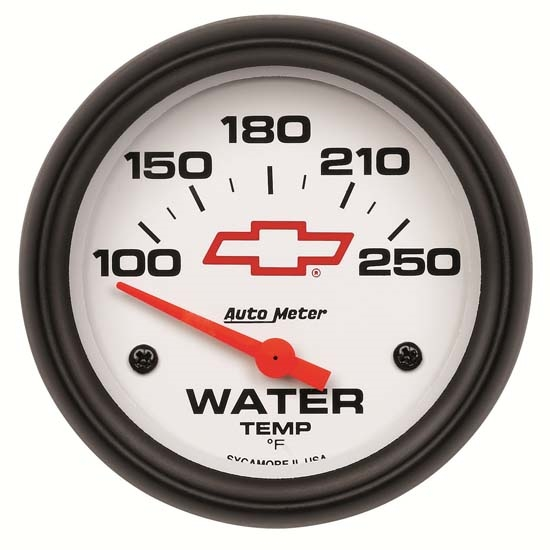 Auto Meter 5837-00406 GM White Air-Core Water Temperature Gauge
