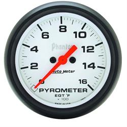 Auto Meter 5844 Phantom Digital Stepper Motor Pyrometer Gauge