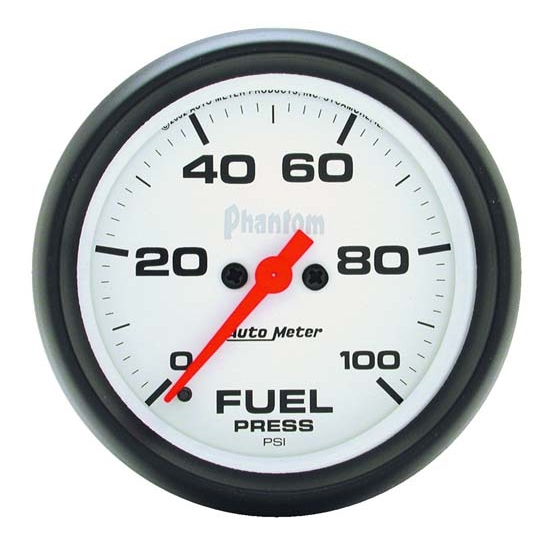 Auto Meter 5863 Phantom Digital Stepper Motor Fuel Pressure Gauge