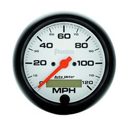 AutoMeter 5887 Phantom Air-Core Speedometer, 120 MPH, 3-3/8 Inch