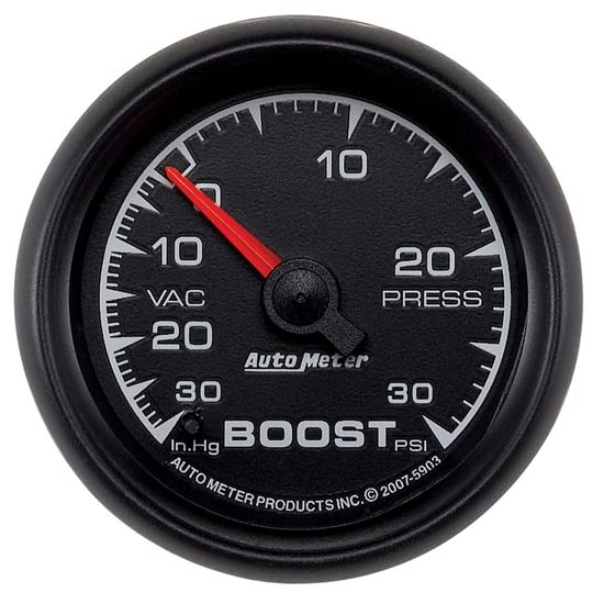 Auto Meter 5903 ES Mechanical Boost/Vacuum Gauge, 2-1/16 Inch