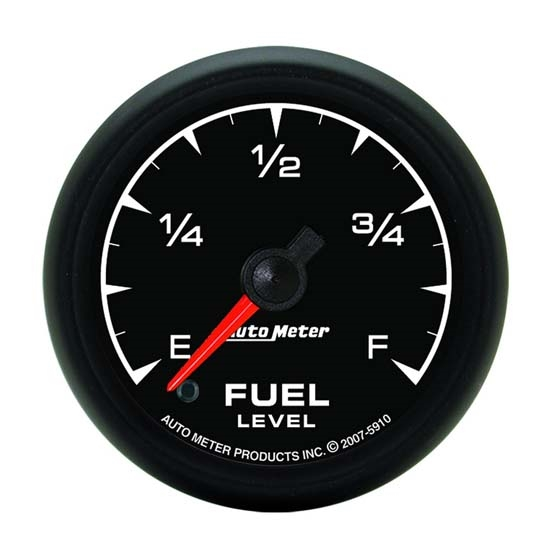 Auto Meter 5910 ES Digital Stepper Motor Fuel Level Gauge, 2-1/16 Inch