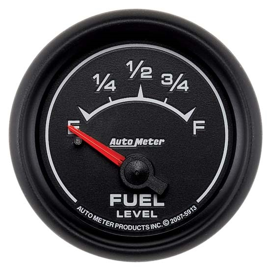 Auto Meter 5913 ES Air-Core Fuel Level Gauge, 2-1/16 Inch