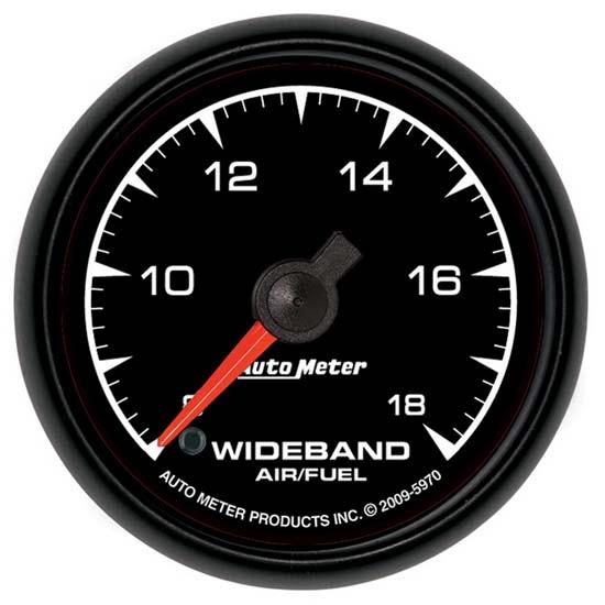 Auto Meter 4970 Ultra-Lite II 2-1//16 Wideband Air//Fuel Ratio Analog Gauge
