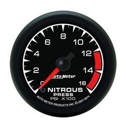 Auto Meter 5974 ES Digital Stepper Motor Nitrous Pressure Gauge