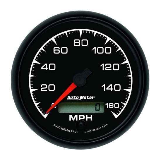 Auto Meter 5988 ES Air-Core Electric Speedometer Gauge, 3-3/8 Inch