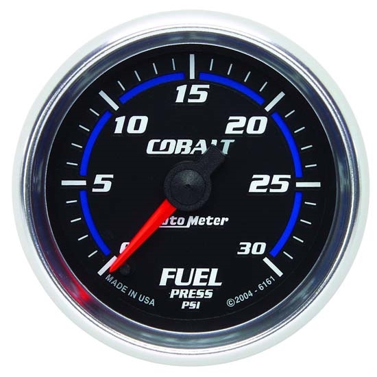 Auto Meter 6161 Cobalt Digital Stepper Motor Fuel Pressure Gauge