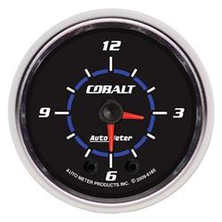 Auto Meter 6185 Cobalt Digital Stepper Motor Clock Gauge, 2-1/16 Inch