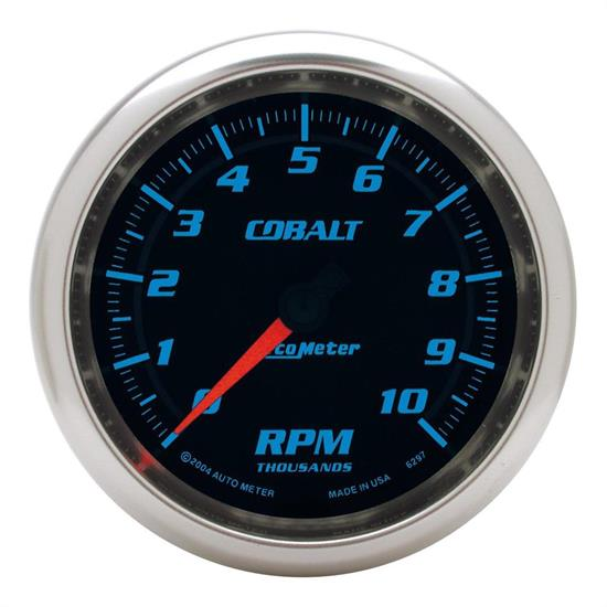 AutoMeter 6297 Cobalt Air-Core In-Dash Tachometer Gauge, 3-3/8