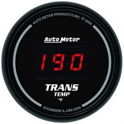Auto Meter 6349 Sport-Comp Digital Digital Transmission Temp Gauge
