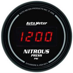 Auto Meter 6374 Sport-Comp Digital Digital Nitrous Pressure Gauge