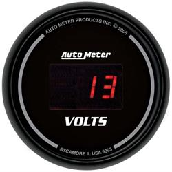 Auto Meter 6393 Sport-Comp Digital Digital Voltmeter Gauge