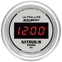 Auto Meter 6574 Ultra-Lite Digital Digital Nitrous Pressure Gauge