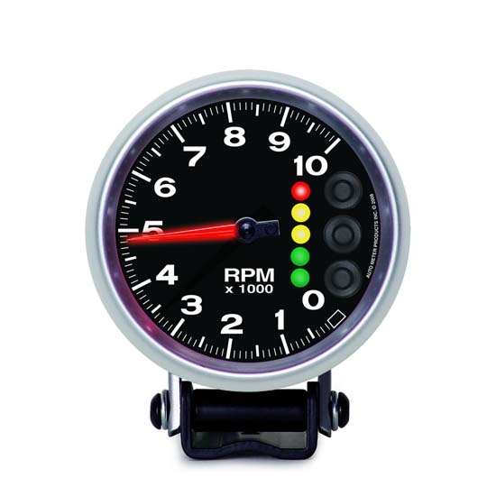 Auto Meter 6606-05705 Elite Air-Core Pedestal Tachometer Gauge