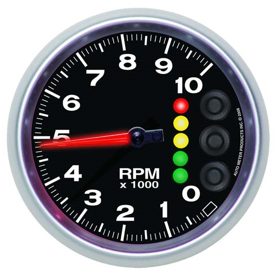 Auto Meter 6847-05705 Elite Air-Core Pedestal Tachometer Gauge