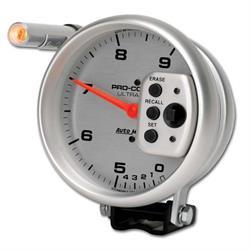 Auto Meter 6854 Ultra-Lite Air-Core Pedestal Tachometer, 9k, 5 Inch