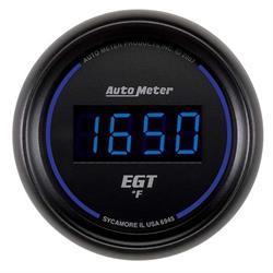 Auto Meter 6945 Cobalt Digital Pyrometer Gauge, 2-1/16 Inch