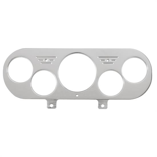 Auto Meter 7044 Direct Fit Dash Panel, Nova 62-65, 5 Gauge, Billet