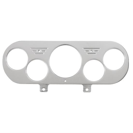 2-5//8 Inch Triple Gauge Mounting Panel Aluminum Autometer 3233