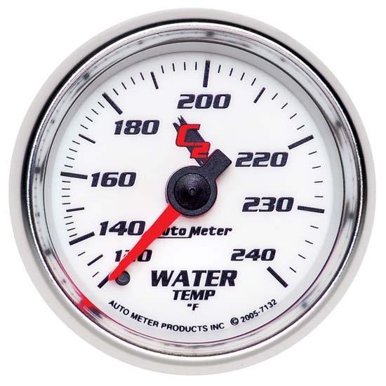 Auto Meter 3832 GS Mechanical Water Temperature Gauge