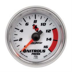 Auto Meter 7174 C2 Digital Stepper Motor Nitrous Pressure Gauge