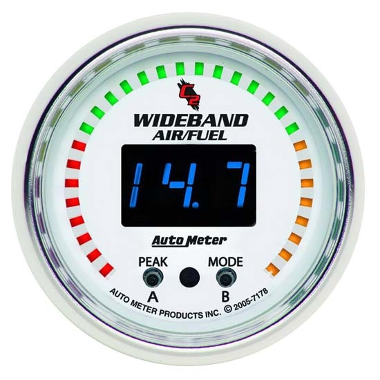 Auto Meter 7178 C2 Digital Wideband Air/Fuel Ratio (AFR) Gauge