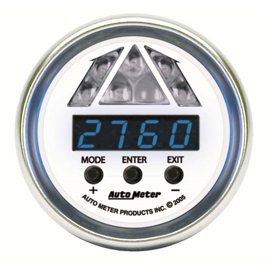 Auto Meter 7187 C2 Pro-Shift Digital DPSS Shift-Light Gauge, 1 Stage
