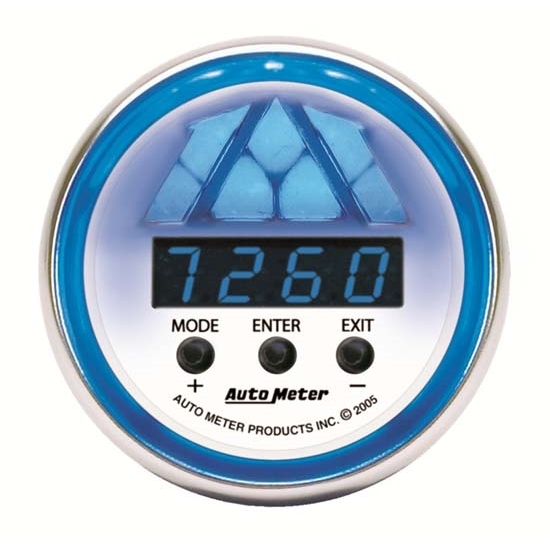 Auto Meter 7188 C2 Pro-Shift Digital DPSS Shift-Light Gauge, 5 Stage