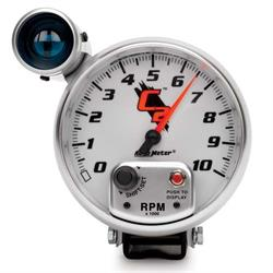 AutoMeter 7299 C2 Air-Core Pedestal Tachometer w/Shift Light