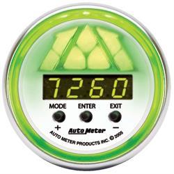 Auto Meter 7388 NV Pro-Shift Digital Shift-Light Gauge, Stage 2