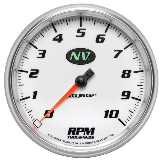 Auto Meter 7498 NV Air-Core In-Dash Tachometer, 5 Inch