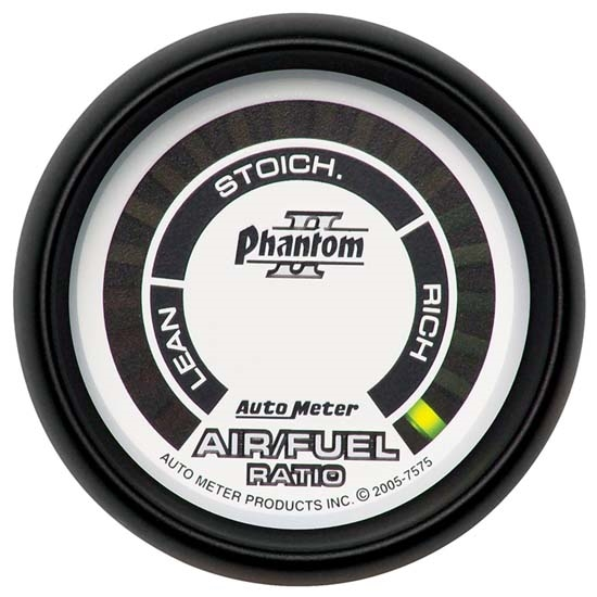 AutoMeter 7575 Phantom II Digital Narrowband Air/Fuel Ratio Gauge