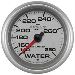 Auto Meter 7731 Ultra-Lite II Mechanical Water Temperature Gauge