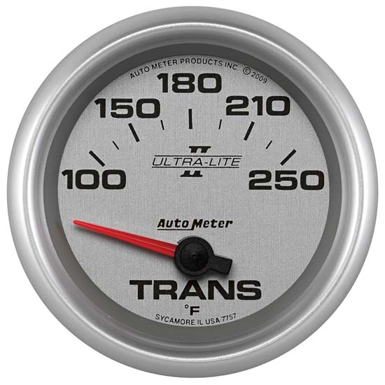Auto Meter 7757 Ultra-Lite II Air-Core Transmission Temperature Gauge