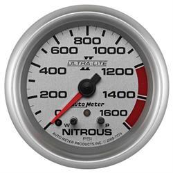 Auto Meter 7774 Ultra-Lite II Stepper Motor Nitrous Pressure Gauge