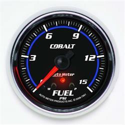 Auto Meter 7961 Cobalt Digital Stepper Motor Fuel Pressure Gauge