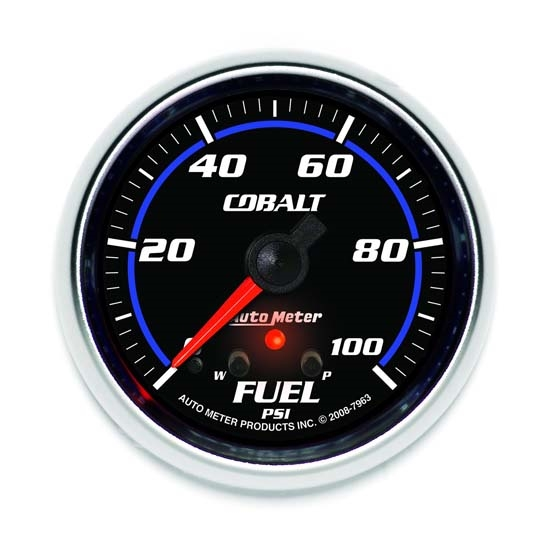 Auto Meter 7963 Cobalt Digital Stepper Motor Fuel Pressure Gauge