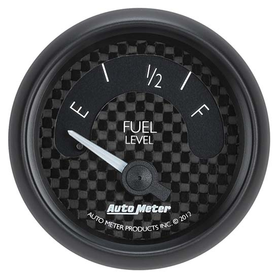 Auto Meter 8015 GT Air-Core Fuel Level Gauge, 2-1/16 Inch