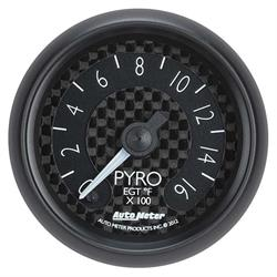 Auto Meter 8044 GT Digital Stepper Motor Pyrometer Gauge, 2-1/16 Inch