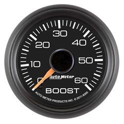 Auto Meter 8305 GM Factory Match Mechanical Boost Gauge, 2-1/16 Inch