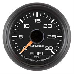 Auto Meter 8360 GM Factory Digital Stepper Motor Fuel Pressure Gauge