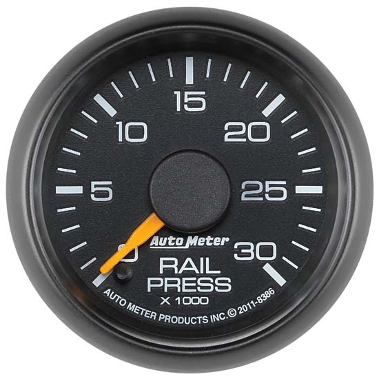 Auto Meter 8386 GM Digital Stepper Motor Fuel Rail Pressure Gauge