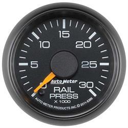Auto Meter 8386 GM Digital Stepper Motor Fuel Rail Pressure Gauge