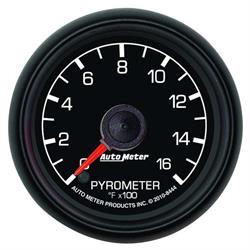 Auto Meter 8444 Ford Factory Digital Stepper Motor Pyrometer Gauge