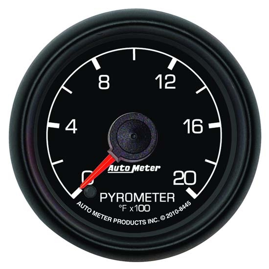 Auto Meter 8445 Ford Factory Digital Stepper Motor Pyrometer Gauge