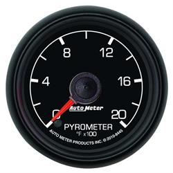 Auto Meter 8445 Ford Factory Digital Stepper Motor Pyrometer Gauge
