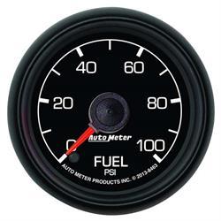 Auto Meter 8463 Ford Factory Digital Stepper Motor Fuel Pressure Gauge