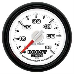 Auto Meter 8505 Gen 3 Dodge Factory Match Mechanical Boost Gauge